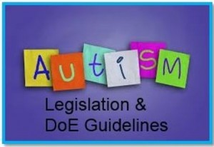 autism DoE guidelines